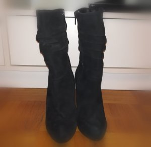 Cinti Zipper Booties black