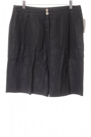 STIFF Gonna culotte nero stile casual