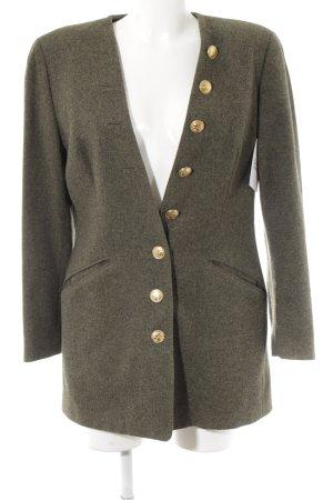STIFF Giacca di lana grigio-verde elegante