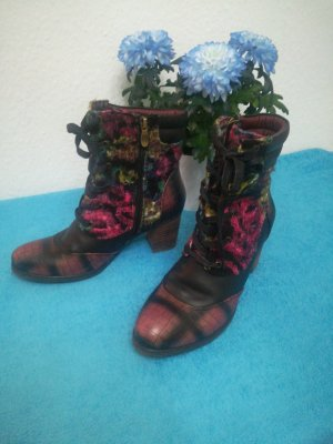 Laura Vita Lace-up Boots multicolored