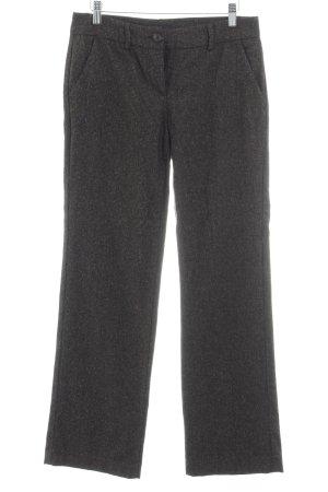 Stile Benetton Pantalon 7/8 taupe motif Prince de Galles style rétro