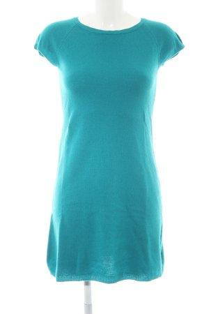 Stile Benetton A-Linien Kleid waldgrün Business-Look