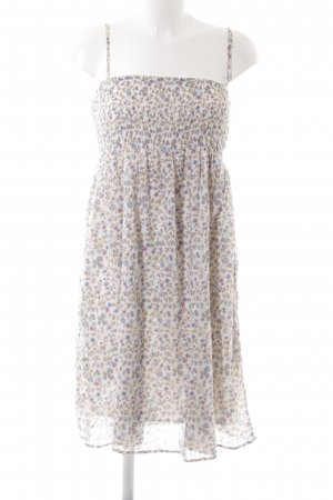 Stile Benetton Bandeaukleid Blumenmuster Beach-Look