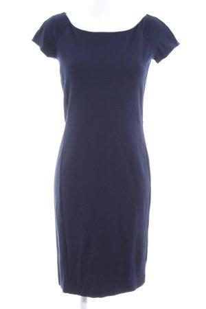 Stile Benetton Bleistiftkleid blau Business-Look