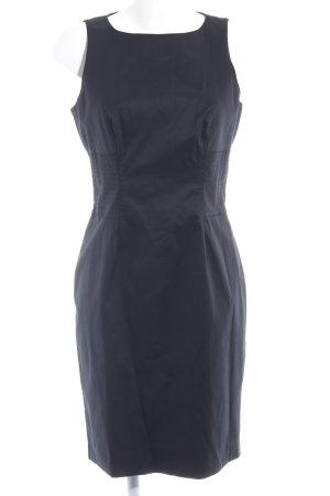 Stile Benetton Kokerjurk zwart zakelijke stijl
