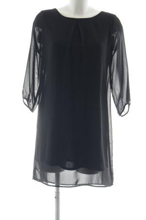 Stile Benetton Blusenkleid schwarz schlichter Stil