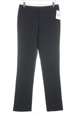 Stile Benetton Pantalon à pinces bleu foncé
