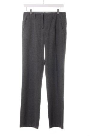 Stile Benetton Pantalon à pinces gris foncé style d'affaires