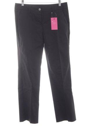 Stile Benetton Pantalon à pinces noir élégant