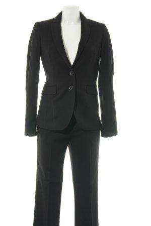 Stile Benetton Business-Anzug schwarz Business-Look