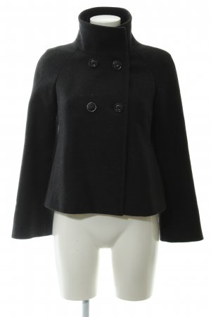 Stile Benetton Pea Jacket black casual look