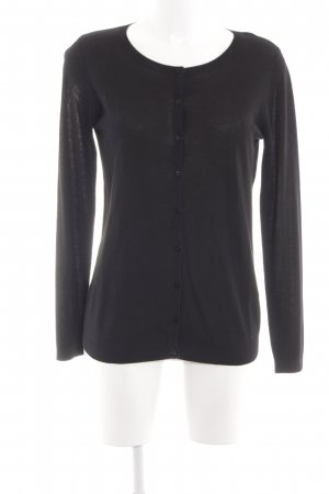 Stile Benetton Cardigan schwarz Casual-Look