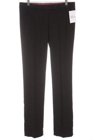 Stile Benetton pantalón de cintura baja negro look casual