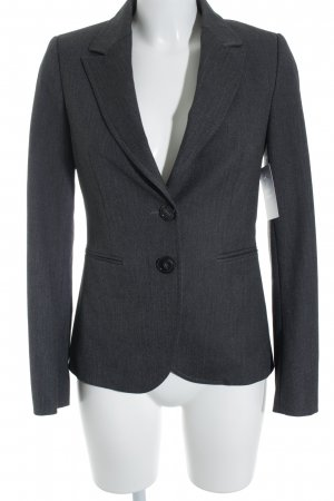 Stile Benetton Kurz-Blazer anthrazit meliert Business-Look