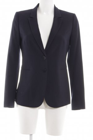 Stile Benetton Kurz-Blazer schwarz Business-Look