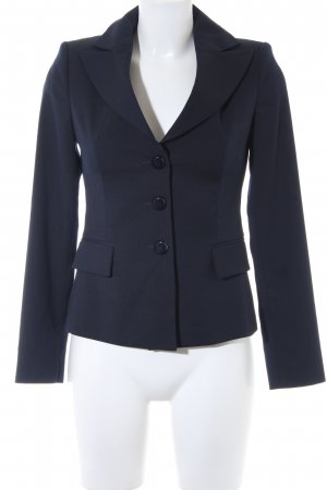 Stile Benetton Kurz-Blazer dunkelblau Business-Look