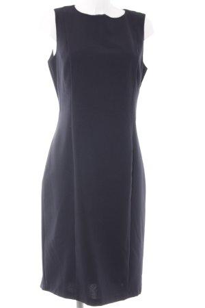 Stile Benetton Kurzarmkleid dunkelblau Business-Look