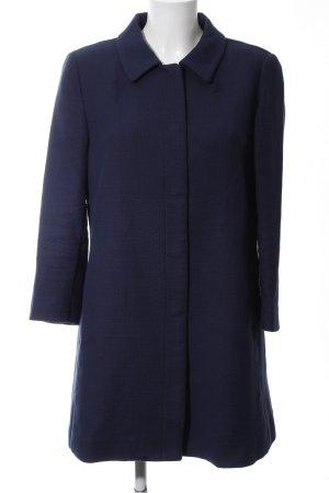 Stile Benetton Kurzmantel blau Casual-Look