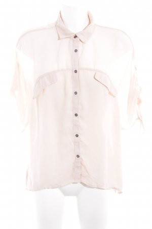 Stile Benetton Langarm-Bluse nude Casual-Look