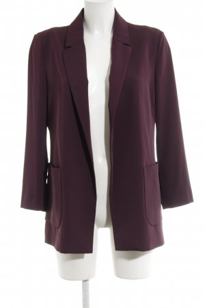 Stile Benetton Long-Blazer braunviolett