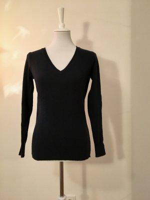 Stile BENETTON, Merino Extra Fine, 100% Lana Vergine, Pullover Dunkelblau (Medium)