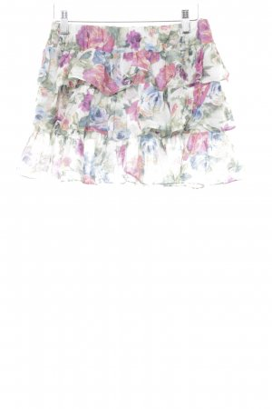 Stile Benetton Minirock florales Muster Casual-Look