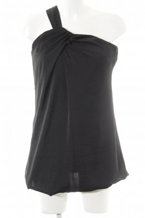 Stile Benetton One-Shoulder-Kleid schwarz Casual-Look