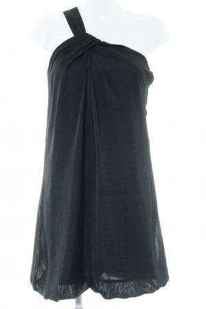 Stile Benetton One-Shoulder-Kleid schwarz Elegant