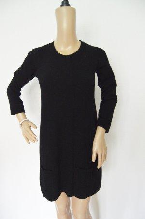 Stile Benetton Pullover - Kleid gr.S Schwarz feinstrick