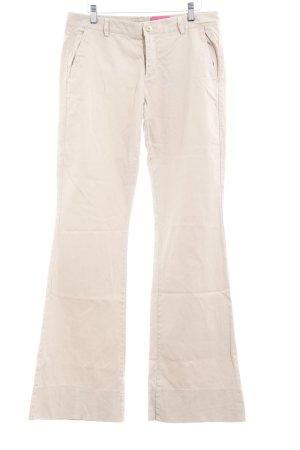 Stile Benetton Schlaghose beige Casual-Look