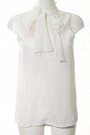Stile Benetton Schlupf-Bluse creme Business-Look