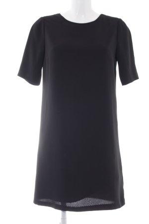 Stile Benetton Shirtkleid schwarz Business-Look