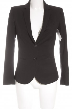 Stile Benetton Smoking-Blazer schwarz Business-Look