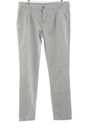 Stile Benetton Pantalon en jersey beige clair style d'affaires