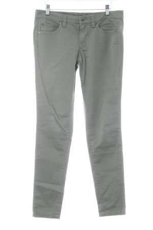 Stile Benetton Straight-Leg Jeans grüngrau schlichter Stil
