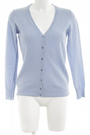 Stile Benetton Strickjacke blau Casual-Look