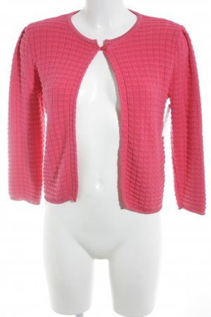 Stile Benetton Strickjacke magenta Casual-Look