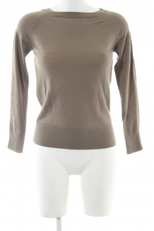 Stile Benetton Strickpullover braun Casual-Look