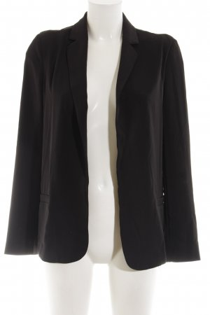Stile Benetton Sweatblazer schwarz Business-Look
