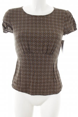 Stile Benetton T-Shirt abstraktes Muster klassischer Stil