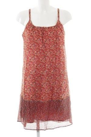 Stile Benetton Trägerkleid florales Muster schlichter Stil