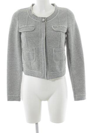 Stile Benetton Übergangsjacke grau-hellbeige Casual-Look