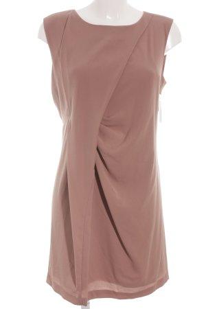 Stile Benetton Wickelkleid roségoldfarben Elegant