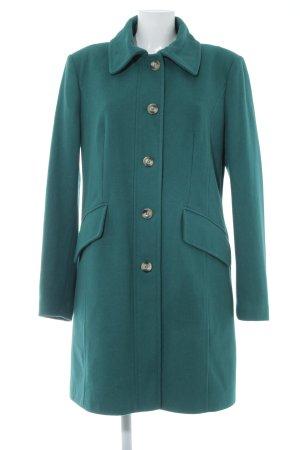 Stile Benetton Wintermantel waldgrün Casual-Look