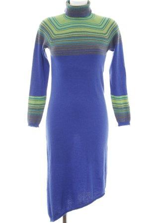 Stile Benetton Wollkleid Streifenmuster extravaganter Stil