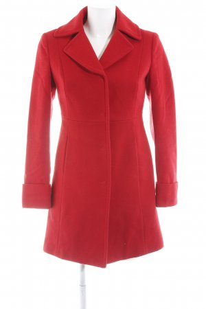 Stile Benetton Wollmantel rot Elegant