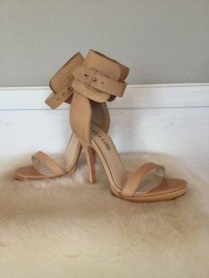 Love & Live High-Heeled Sandals oatmeal