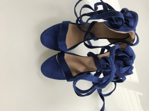High Heel Sandal blue-light brown