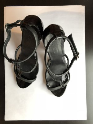 COS High-Heeled Sandals anthracite-black