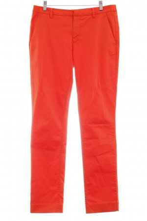 Stills pantalón de cintura baja naranja oscuro elegante